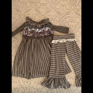 Persnickety Lace and Ruffle Set